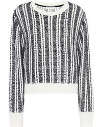 Public School - Nabila Wool-blend Striped Sweater - Lyst