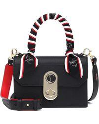 Christian Louboutin Elisa Small Top Handle Bag Leather Black/multi/gold
