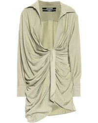 Jacquemus La Robe Bahia Minidress - Green