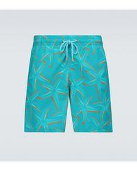 Vilebrequin Moorea 1997 Starlettes Swim Shorts - Blue