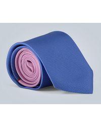 Prada Corbata de seda estampada - Rosa