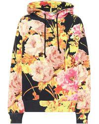 Dries Van Noten Floral Cotton Hoodie - Multicolor