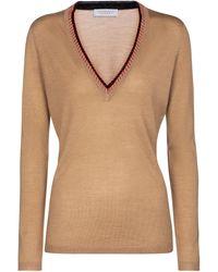 Gabriela Hearst Pullover Lorenco in cashmere e seta - Neutro