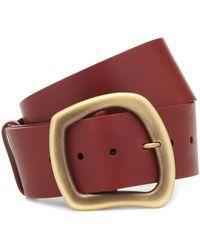 Gabriela Hearst Simone Leather Belt - Brown