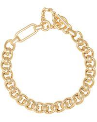 Bottega Veneta Halskette aus Silber - Mettallic