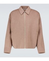 Acne Studios - Wool Blouson Jacket - Lyst