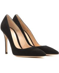 Gianvito Rossi - Gianvito 105 Suede Pumps - Lyst