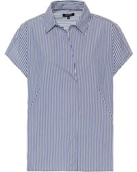 Woolrich - Striped Cotton-blend Shirt - Lyst