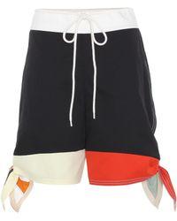 Chloé - Cotton Shorts - Lyst