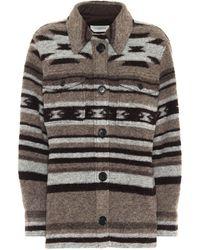 Étoile Isabel Marant Gastoni Wool-blend Jacket - Multicolour