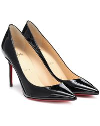 Christian Louboutin Pumps Kate 85 in vernice - Nero