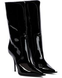 Dolce & Gabbana Botines Cardinale de charol - Negro