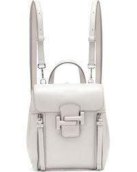 Tod's - Double T Leather Backpack - Lyst