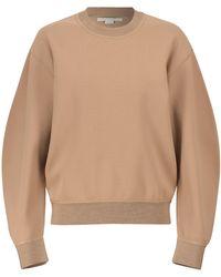 Stella McCartney Sweatshirt Compact - Natur