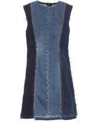 Acne Studios Robe Blå Konst en jean - Bleu