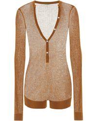 Dodo Bar Or Knit Bodysuit - Brown