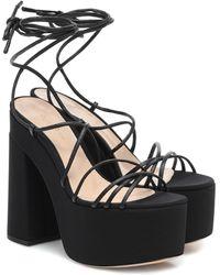 Gianvito Rossi Platform Sandals - Black
