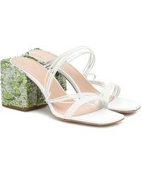 Jacquemus Les Mules Estello Sandals - White