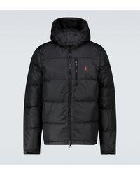 Polo Ralph Lauren Jacke aus Tech-Material - Schwarz
