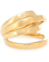 ALAN CROCETTI Space Gold Vermeil Ring - Metallic