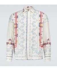 Bode Shibui Pagoda Shirt - Multicolour