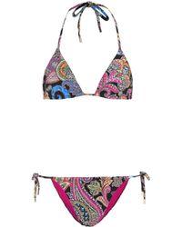 Etro Printed Bikini - Multicolour