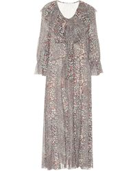 See By Chloé Animal-print Dress - Multicolour