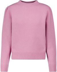 Dries Van Noten Jersey de lana - Rosa