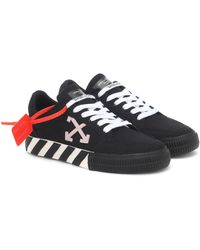 Off-White c/o Virgil Abloh Exclusive To Mytheresa – Arrow 2.0 Canvas Trainers - Black