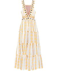 Dodo Bar Or Printed Cotton Maxi Dress - Multicolor