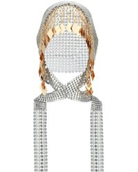 Paco Rabanne Chainmail Headpiece - Metallic