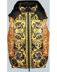 Versace Reversible Down-filled Gilet - Red