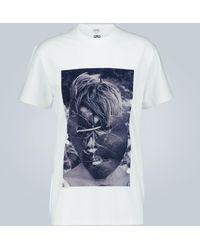 Loewe T-shirt Ken Heyman - Blu