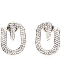 Givenchy Verzierte Ohrringe G Link - Mettallic