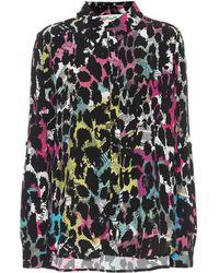 Diane von Furstenberg Camicia Lorelei a stampa in crêpe - Multicolore