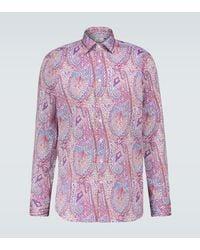 Etro Paisley Printed Shirt - Pink