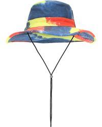 Loewe Paula's Ibiza sombrero de pescador - Azul