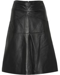Isabel Marant - Gladys Leather Skirt - Lyst