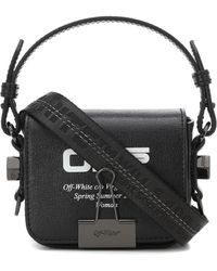 Off-White c/o Virgil Abloh Binder Clip Baby Shoulder Bag - Black