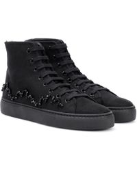 Simone Rocha - Embellished Canvas Trainers - Lyst