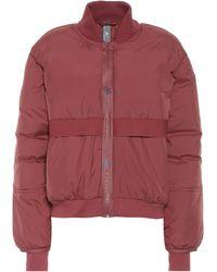 adidas By Stella McCartney Bomber Jacket - Red