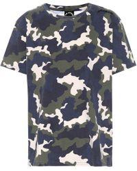The Upside Simba Camouflage Cotton T-shirt - Multicolour