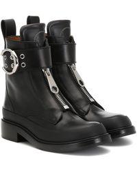 Chloé Ankle Boots Roy aus Leder - Schwarz