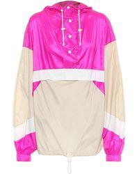 Étoile Isabel Marant Kizzy Rain Jacket - Pink