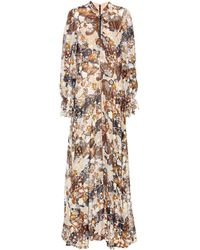 Chloé - Floral Maxi Dress - Lyst