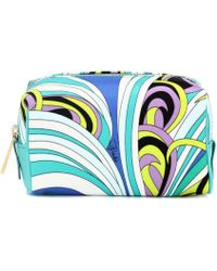 Emilio Pucci - Printed Cosmetic Pouch - Lyst