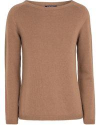 Max Mara Giose Cashmere Sweater - Brown