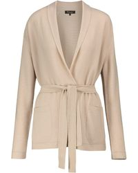 Loro Piana Villefranche Belted Cashmere Cardigan - Natural