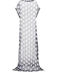 Givenchy - Printed Silk Kaftan - Lyst