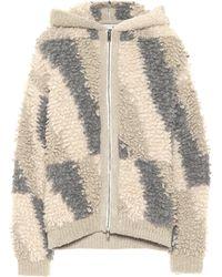 Stella McCartney Alpaca And Wool-blend Hoodie - Natural
